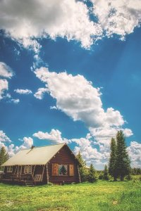 Island Park Idaho Crabtree Cabin