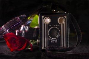 Vintage Video Camera by Christie Bryant