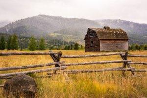 Barn in Victor Idaho by Christie Bryant