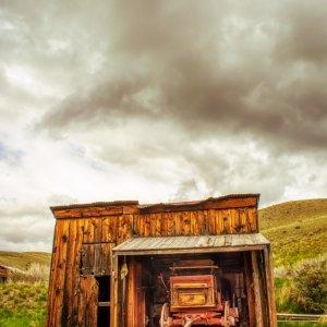 Christie Bryant Wagon Bannack Montana