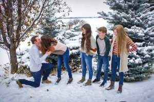 winter family portraits by christiebryant.com